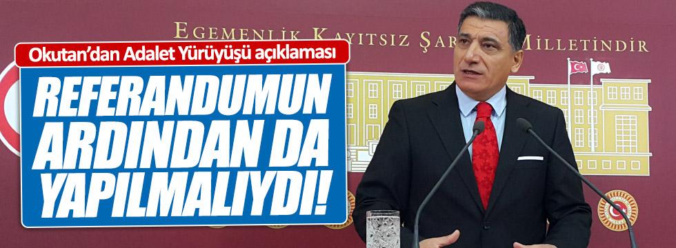 Okutan'dan Kılıçdaroğlu açıklaması
