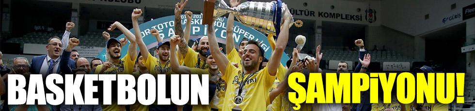 Basketbolun şampiyonu Fenerbahçe!