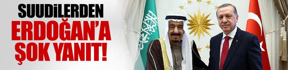 Suudi Arabistan'dan Türkiye'ye ret