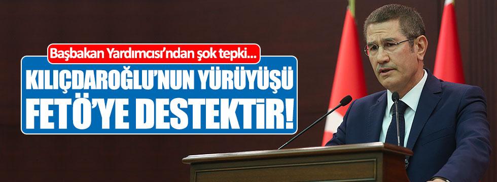 """Canikli: """"Kılıçdaroğlu'nun yürüyüşü esasında FETÖ'ye destektir"""""""
