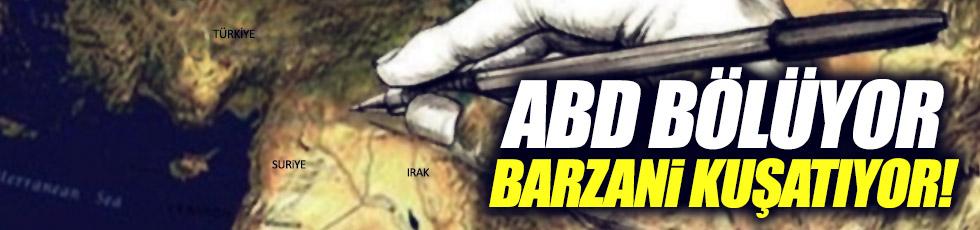 Pekin: ABD bölüyor Barzani kuşatıyor