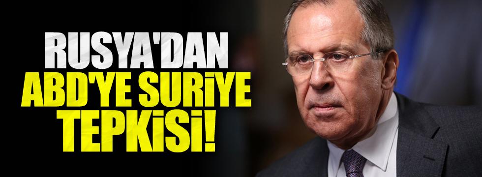Rusya'dan Suriye uçağını düşüren ABD'ye tepki!