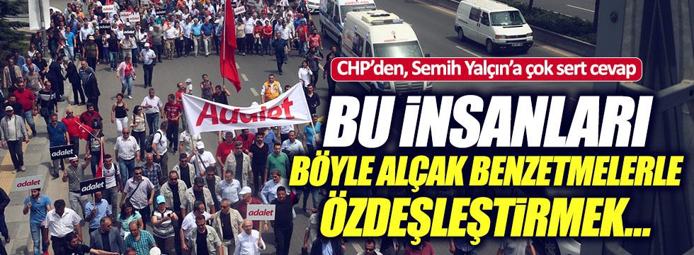 CHP'li Yılmaz'dan, Semih Yalçın'a çok sert cevap