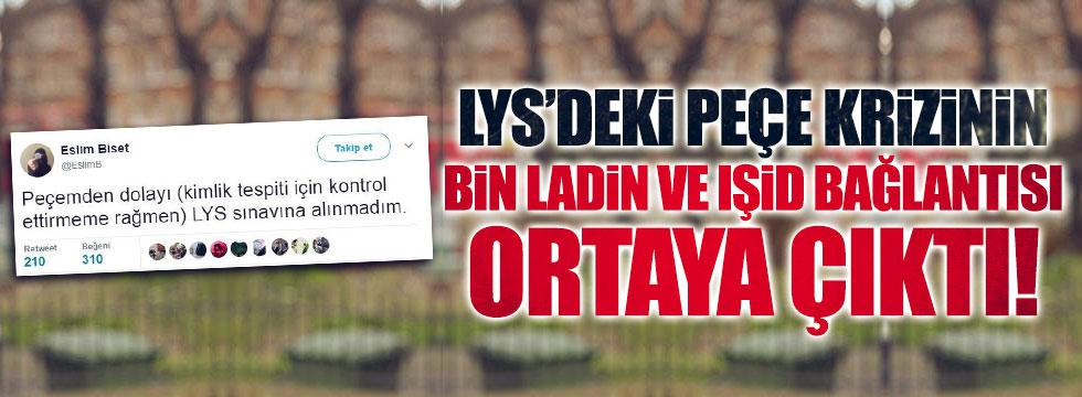 LYS'deki 'peçe krizi'nin ardından IŞİD bağlantısı çıktı!