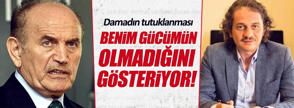 Kadir Topbaş'tan 'damat' açıklaması