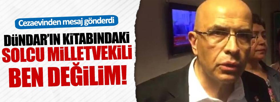 CHP'li Tanal, Berberoğlu'nun mesajlarını paylaştı