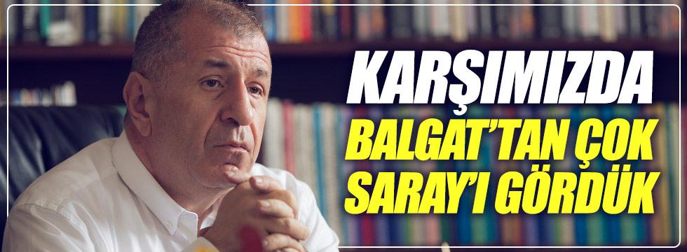 Özdağ: Olağanüstü kurultay sürecinde karşımızda Balgat'tan çok Saray'ı gördük!