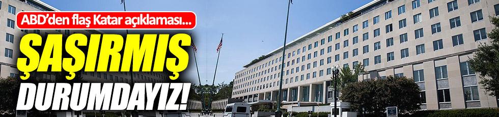 ABD'den flaş Katar açıklaması!