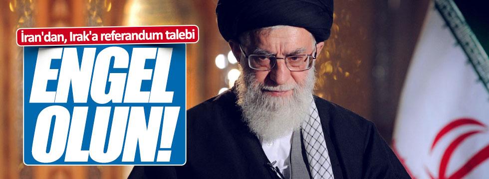 İran'dan, Irak'a referandum talebi