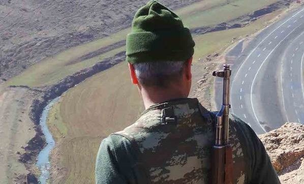 Diyarbakır'da acı haber: 1 şehit