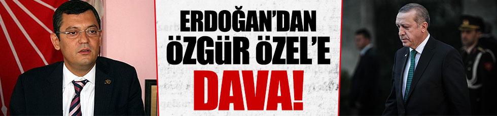 Erdoğan'dan Özgür Özel'e dava