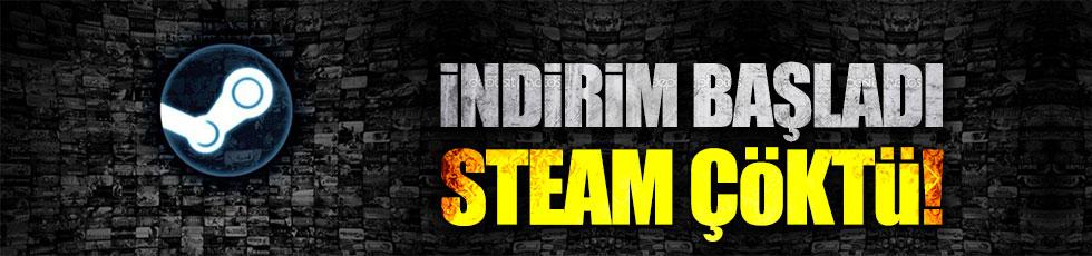 İndirim başladı, Steam çöktü
