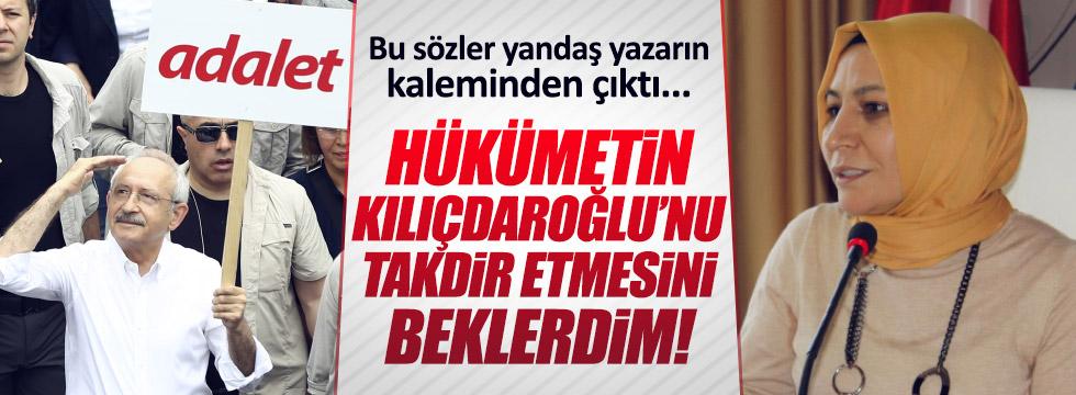 Yandaş yazardan Hükümet'e Kılıçdaroğlu tepkisi