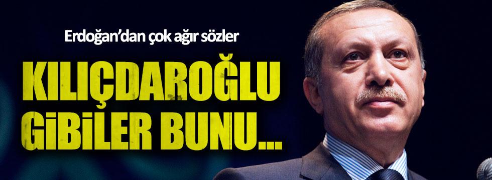 Erdoğan'dan Kılıçdaroğlu'na çok ağır sözler