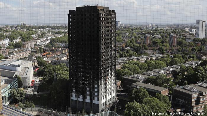 Londra'daki yangının nedeni belli oldu
