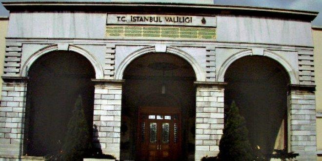 İstanbul Valiliği'nden o yürüyüşe izin yok