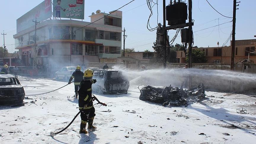 Musul'da intihar saldırısı: 8 ölü 19 yaralı
