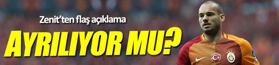 Zenit'ten Sneijder açıklaması