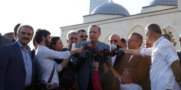 Erdoğan yürüyüşü araştırıyor!..