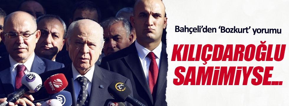 """Bahçeli'den Kılıçdaroğlu'na """"bozkurt"""" yorumu"""