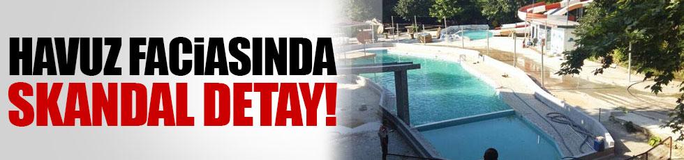 5 kişi ölmüştü: Havuz faciasında şok gerçek