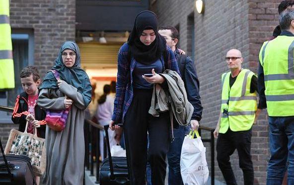 Londra'da 5 bina tahliye edildi