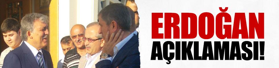 Gül'den Erdoğan'ın hastalığı yorumu