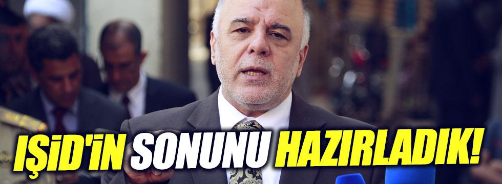 """IŞİD'in sonunu hazırladık"""