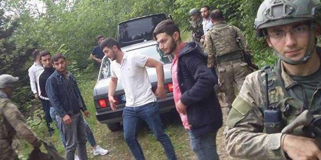 Trabzon'da patlama; 2 asker yaralı