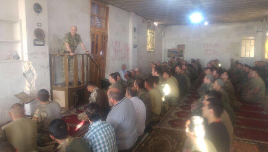 Mehmetçik Ramazan Bayramı'na El Bab'da girdi