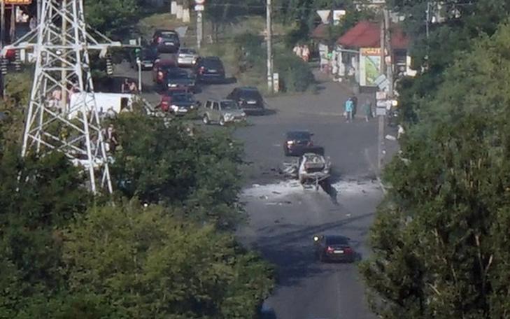 Kiev'de korkunç patlama!