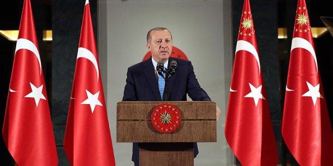 Erdoğan'dan Kara Kuvvetleri'ne mesaj