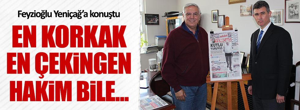Barolar Birliği Başkanı Feyzioğlu, Yeniçağ'a konuştu