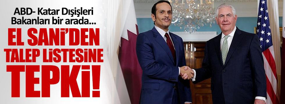 ABD - Katar Dışişleri Bakanları bir arada
