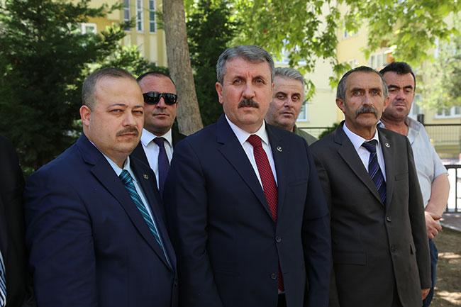 BBP lideri Destici'den 'adalet yürüyüşü' açıklaması
