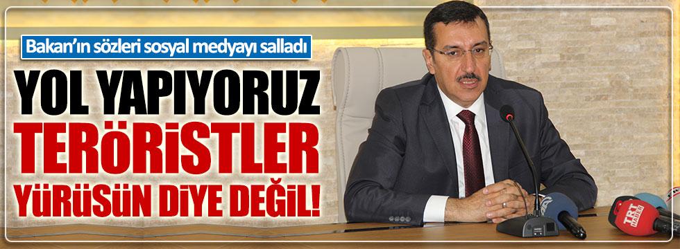 Bakan Tüfenkci'nin sözleri sosyal medyayı ayağa kaldırdı