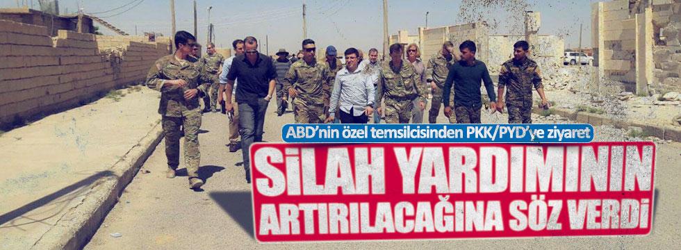 ABD Özel Temsilcisi'nden PKK/PYD'ye ziyaret