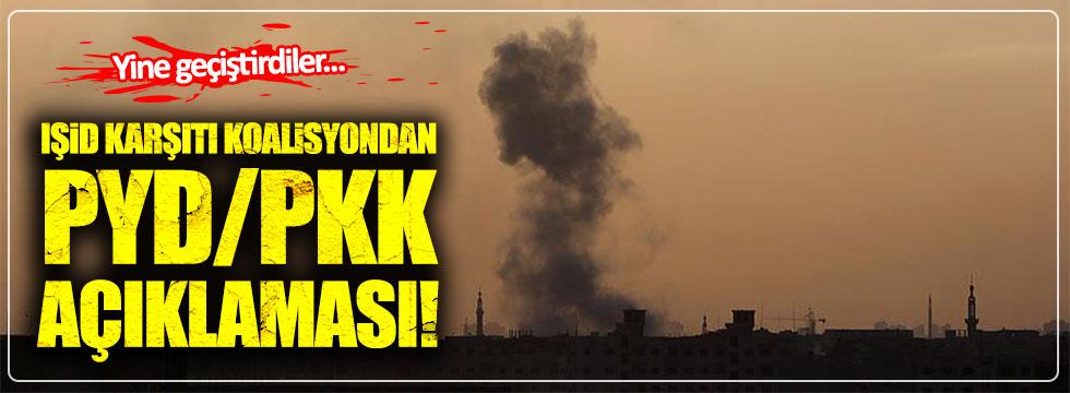 IŞİD karşıtı koalisyondan PYD/PKK açıklaması