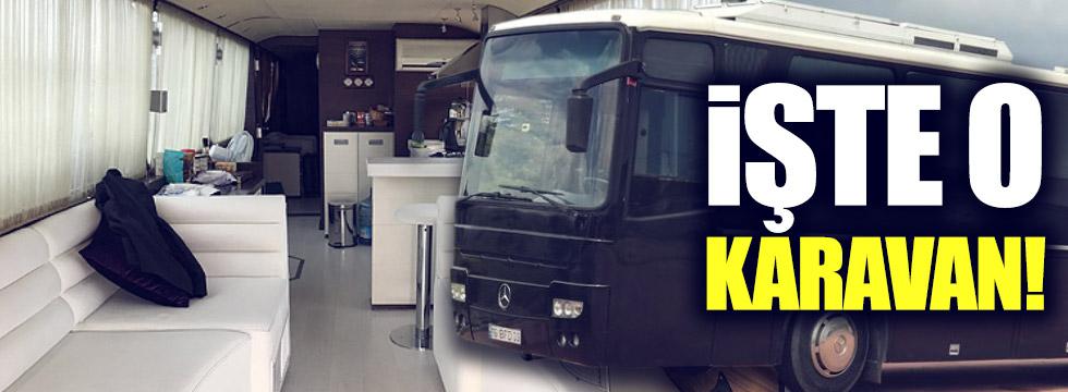 İşte Kılıçdaroğlu'nun kaldığı karavan!