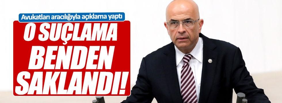 Berberoğlu'ndan açıklama: Mahkeme o suçu benden sakladı