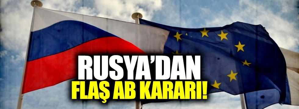 Rusya'dan Avrupa'ya rest