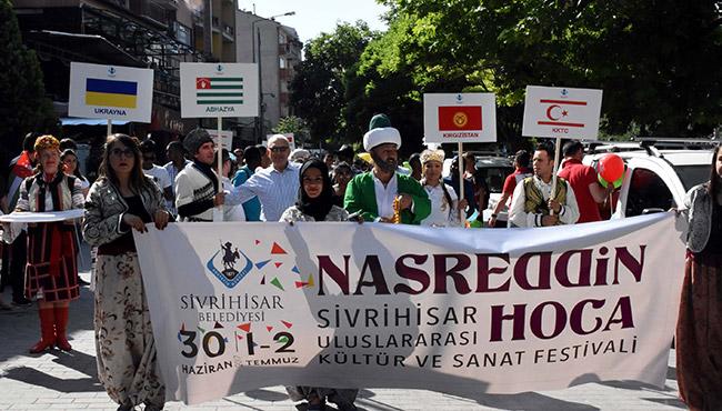 Nasreddin Hoca Eskişehir'de