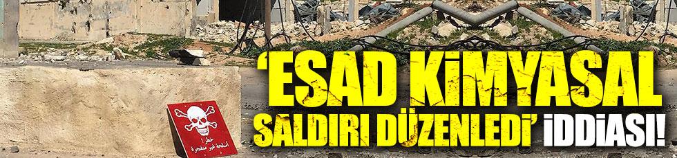 """""""Esad kimyasal saldırı düzenledi"""" iddiası"""
