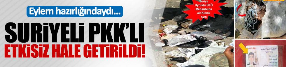 Öldürülen PKK'lı Suriye vatandaşı çıktı