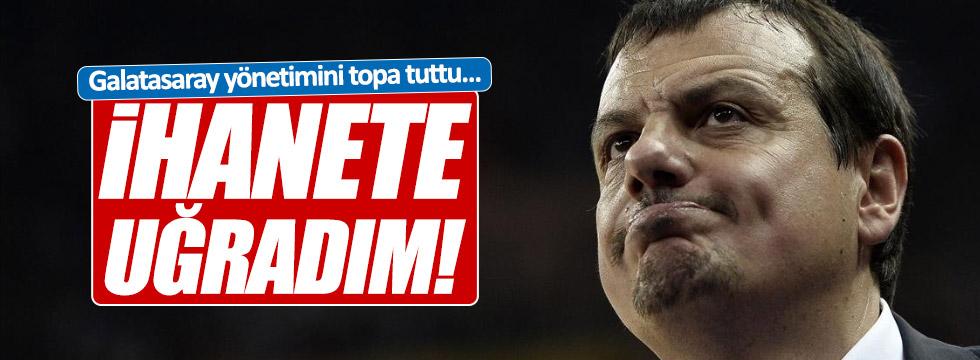 Ataman, Galatasaray yönetimini topa tuttu
