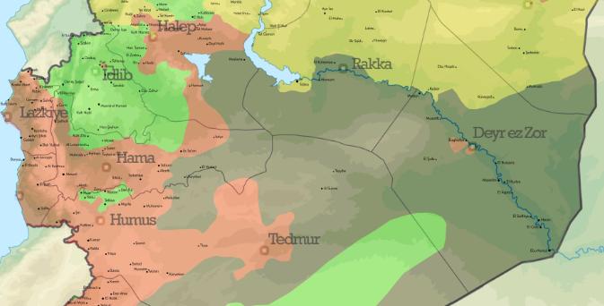 Yap - Boz haritasında Lozan ile Sevr...