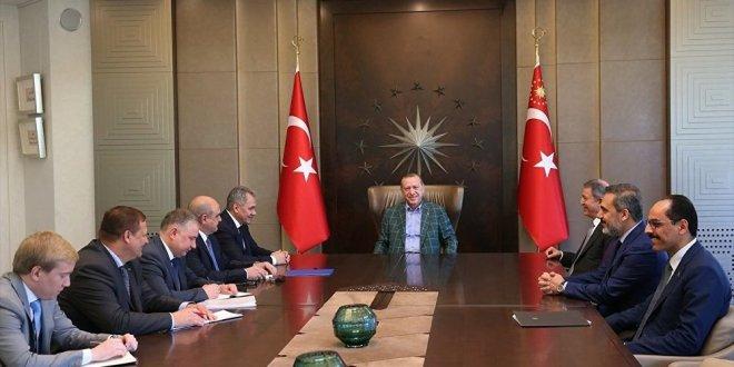 Kritik isim İstanbul'da Erdoğan'la  görüşüyor