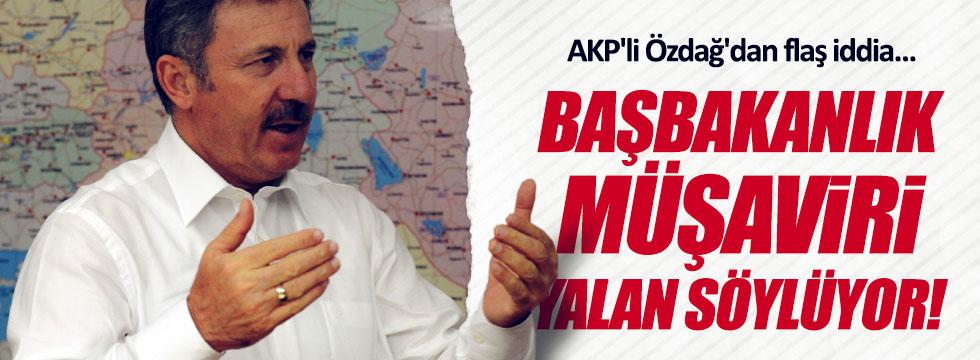 """AKP'li Özdağ'dan flaş iddia: """"Sarıkoca yalan söylüyor"""""""