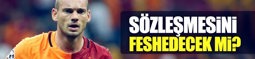 Sneijder sözleşmesini fesh edecek mi?