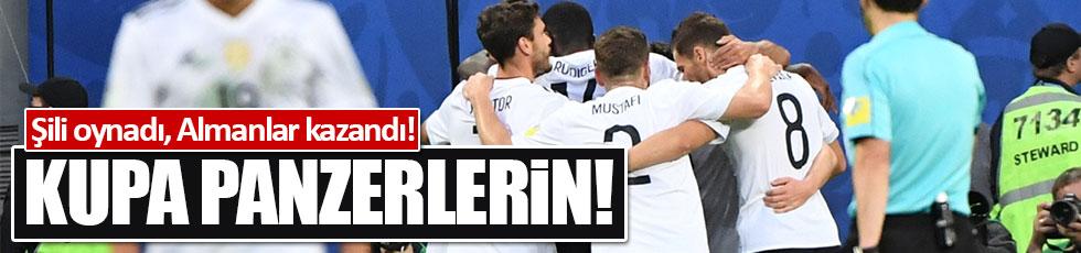 Konferedasyon Kupası Almanya'nın!